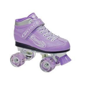 Comet Lites purple skates with light up wheels jr12 to jr5