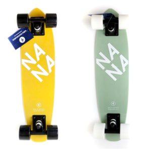 Nana skateboards 6 inch wide 23.75 long fiberglass
