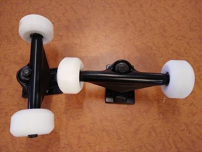Skateboard trucks kit 135mm axle width