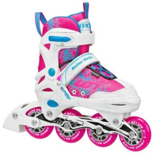 RDS Ion Girls 7.2 Adjustable Inline Skates