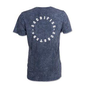 Sacrifice acid navy T-shirt