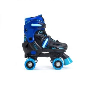 SFR STORM III  blue/black quad roller skates (size adjustable)