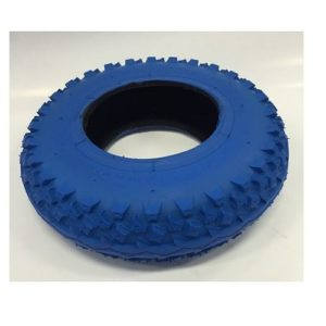 Dirt scooter tyres blue