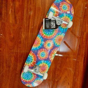 Trinity Tie-dye beginner skateboard 8.25