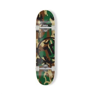 Trinity camo skateboard