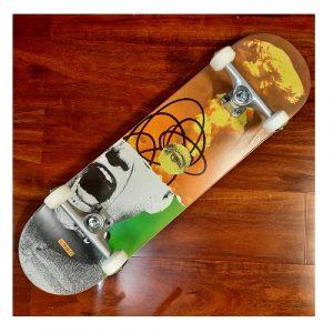 Trinity Rage print pro skateboard