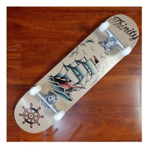Trinity Seaworthy pro skateboard